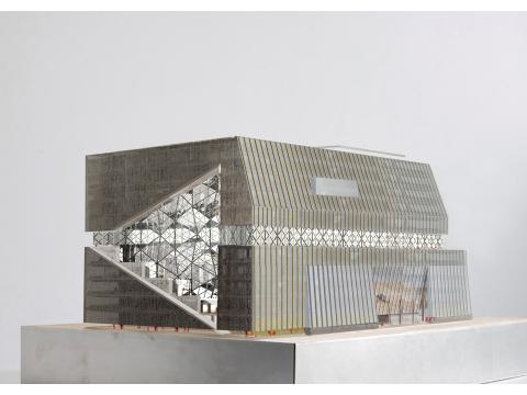 Baugenehmigung für den Axel Springer Neubau