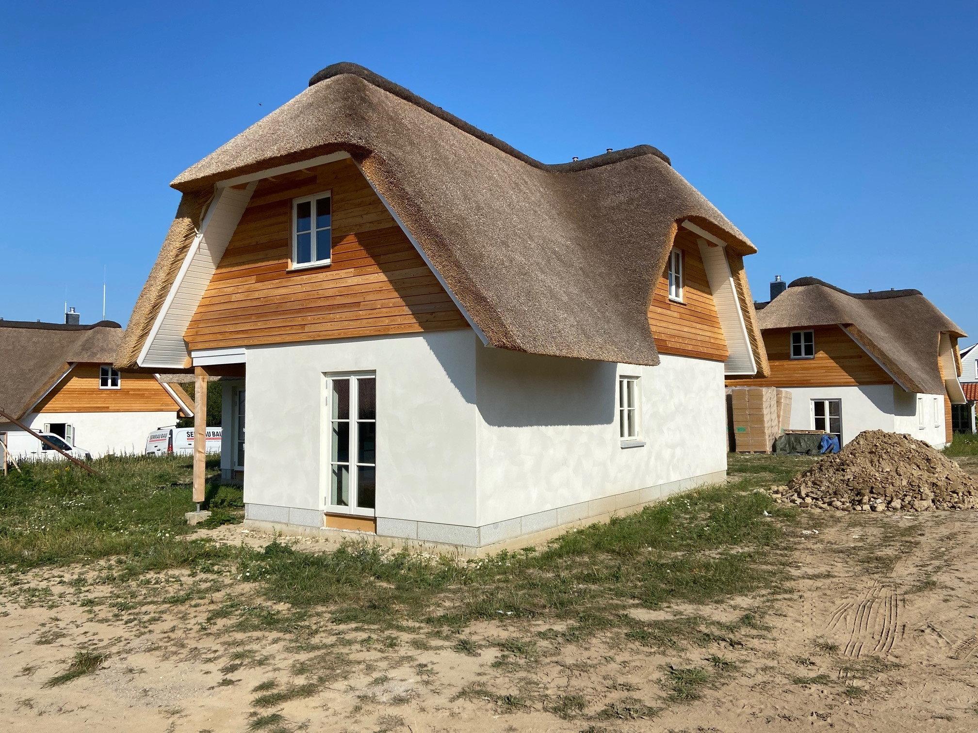 Bau von Ferienhäusern an der Ostsee