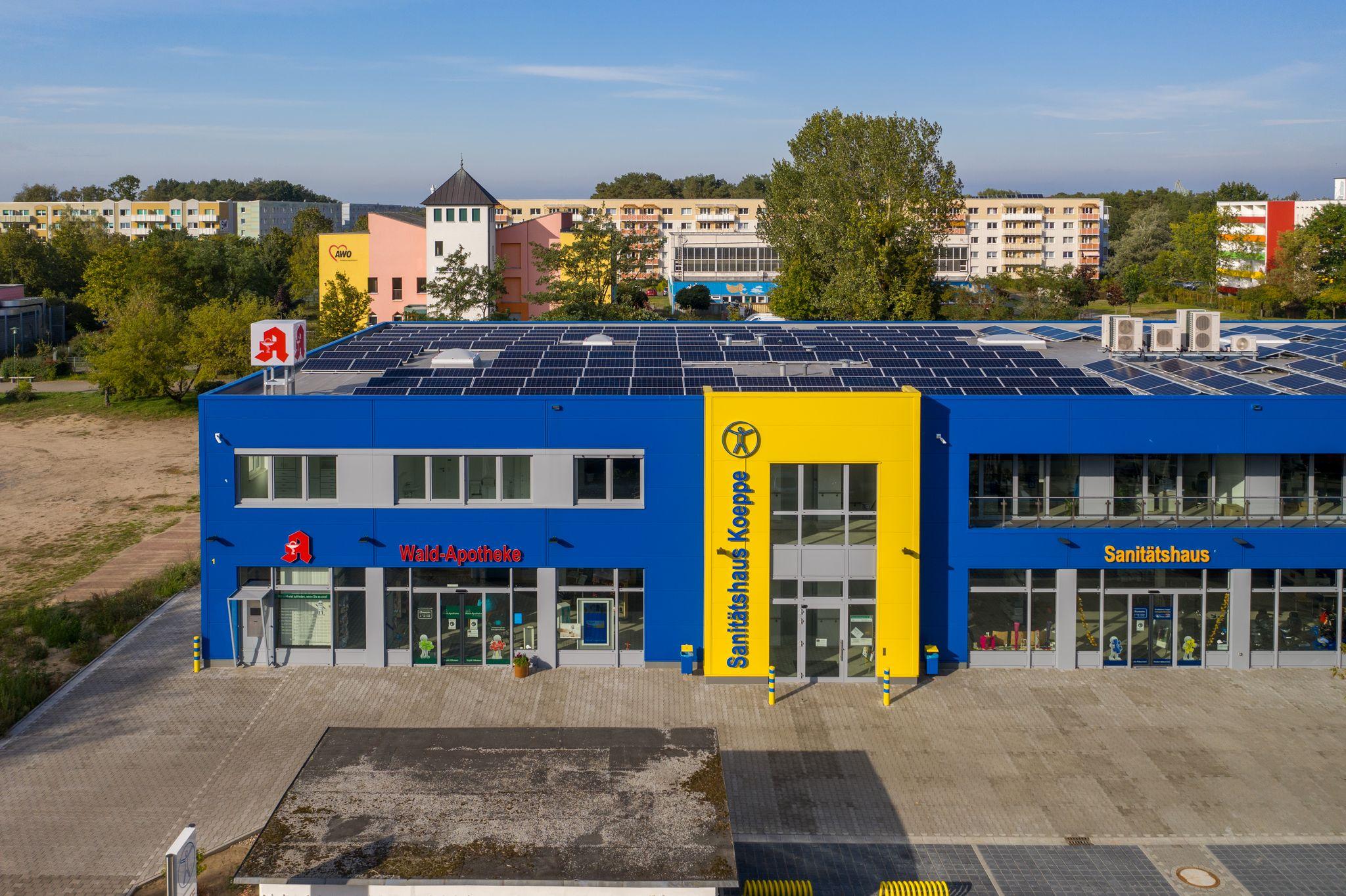 Neubau eines Sanitäts- und Ärztehauses